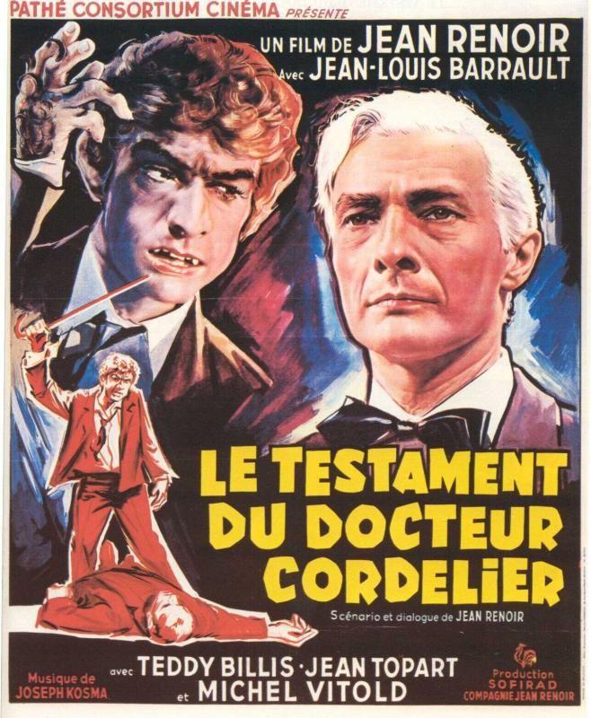 Le Testament du docteur Cordelier affiche